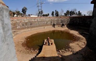 Tørken rammet store deler av Kina, våren 2012. Her fra Yunnan provinsen