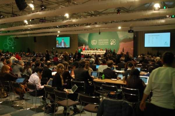 FNs klimaforhandlinger i Warszawa var et skritt fram og to tilbake (Foto: Erik Martiniussen)