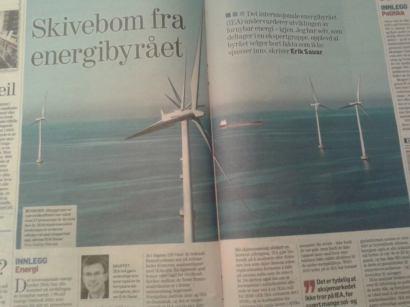 Erik Sauar med bakgrunn fra REC og Differ skriver i Dagens Næringsliv om hvordan IEA konsekvent har undervurdert vekstratene i solenergi og vindenergi (16.1.14)